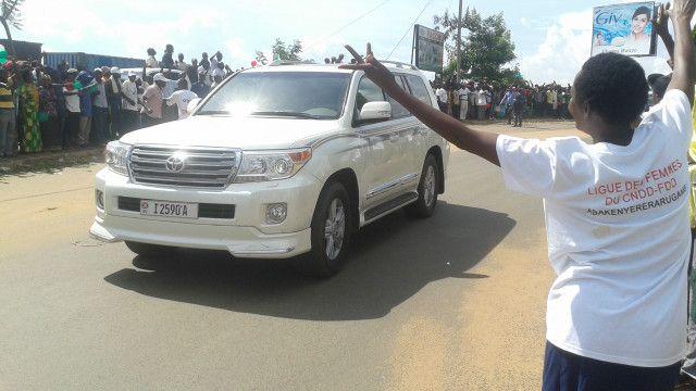 Prezida Nkurunziza agarutse i Bujumbura