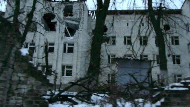 Кадр из документального фильма о восточной Украине