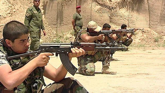 Шиитские ополченцы в Ираке