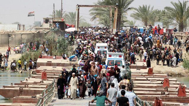 रमादी, इस्लामिक स्टेट, आईएस, इराक़