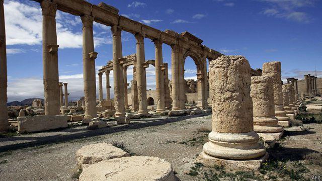 Estado Islámico toma Palmira, uno de los mayores sitios arqueológicos de Medio Oriente