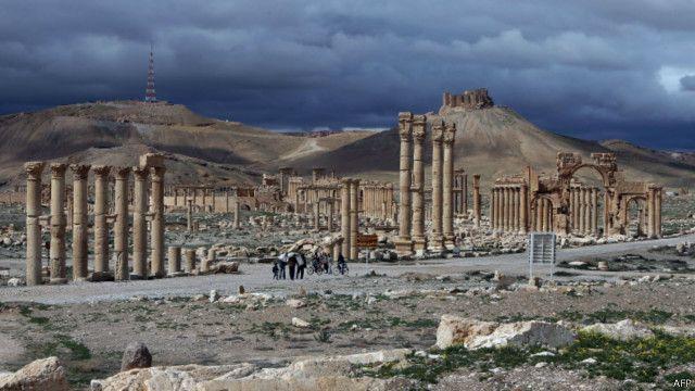 पाल्मायरा, इस्लामिक स्टेट, सीरिया, आईएस