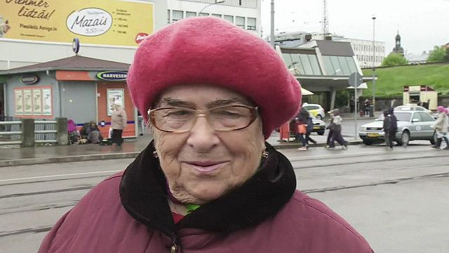 Опрос на улицах Риги