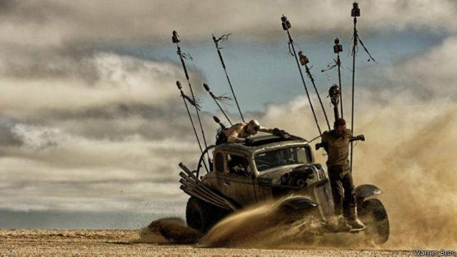 As incríveis máquinas mutantes de 'Mad Max'