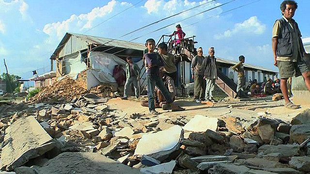 नेपाल में तबाही