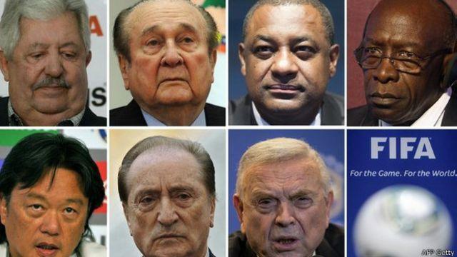 Cuáles son las acusaciones contra los directivos de la FIFA