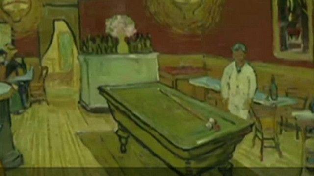Una imagen del cuadro de Van Gogh