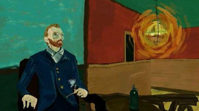Виртуальная панорама на основе картины Ван Гога