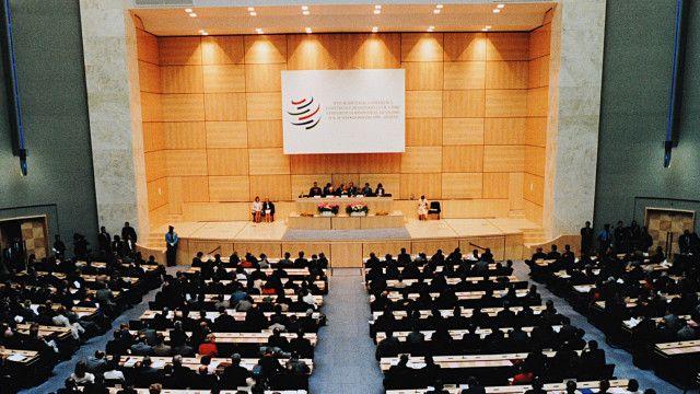 سازمان تجارت جهانی قانونهای جهانی تجارت را تنظیم میکند