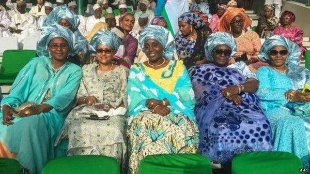Wasu mata a birnin Abuja Najeriya
