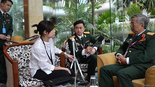 BBC phỏng vấn Thượng tướng Nguyễn Chí Vịnh tại Shangri-la 2015