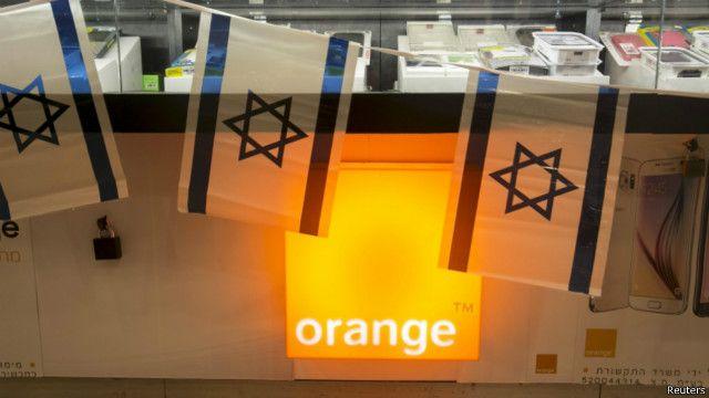 """أورانج تتراجع ومديرها يؤكد """"نحن نحب إسرائيل"""""""