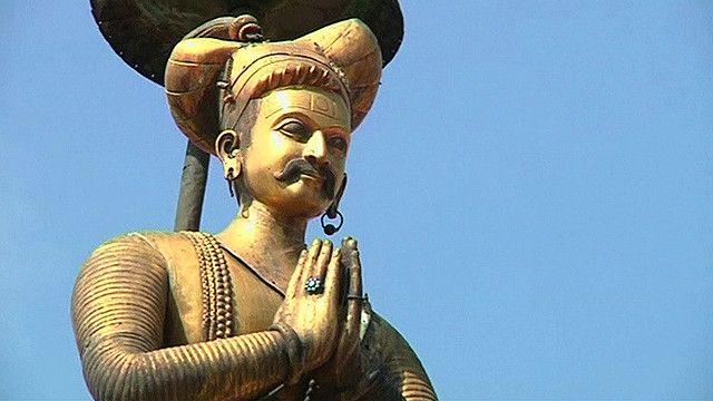 A statue in Nepal