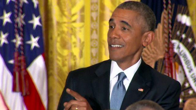Obama amzoma mwanaharakati White House