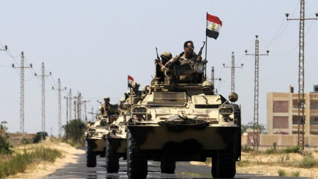Egypt troops