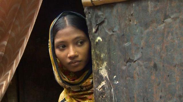 Девушка из Бангладеш, бросившая школу