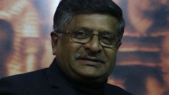 रवि शंकर प्रसाद, केंद्रीय दूरसंचार मंत्री, भारत