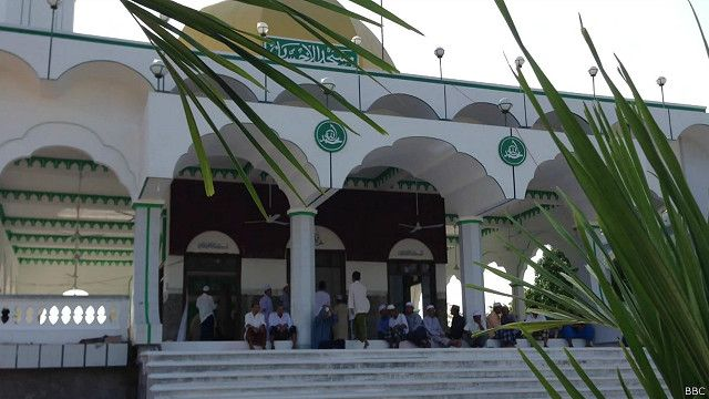 Đền thờ Hồi giáo của người Chăm ở tỉnh An Giang, Việt Nam
