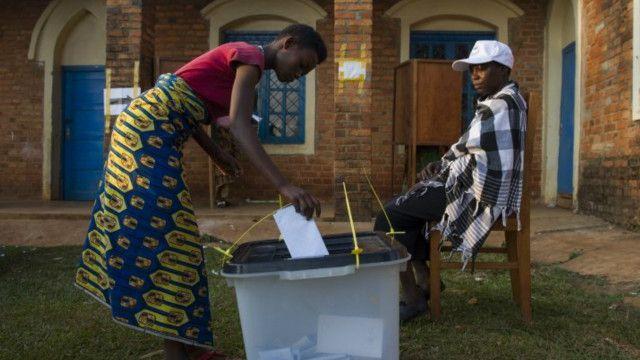 Uchaguzi wa urais nchini Burundi