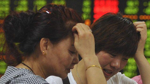 چین کے حصص بازار کی تصویر
