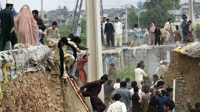 اسلام آباد میں کچی بستیوں کے خلاف آپریشن