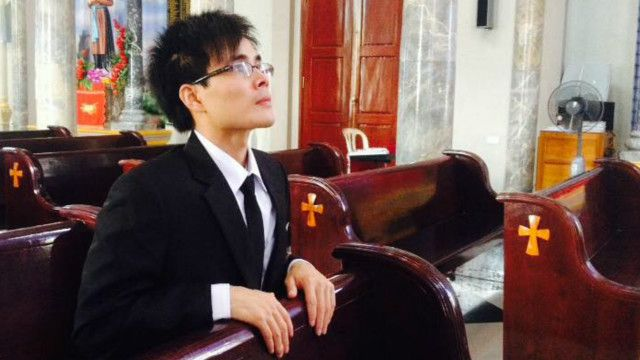 Paulus Le Son, hình từ Facebook Ant Son Chu Manh