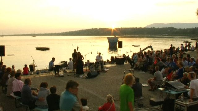 концерт на озере