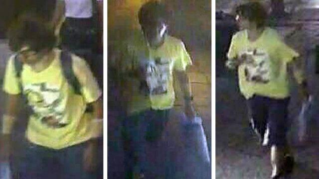 Bangkokl bomb suspect