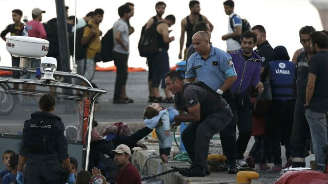 Migrants, Kos, Greece