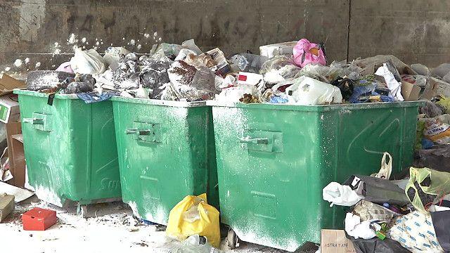 Горы мусора в Бейруте
