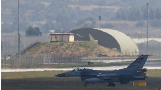 Турецкий военный самолет