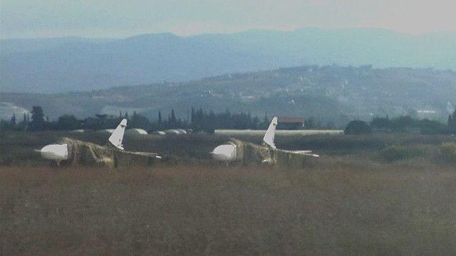 Phi cơ Nga sẵn sàng tiến hành không tập Syria