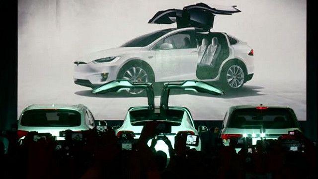 Презентация автомобиля Model X