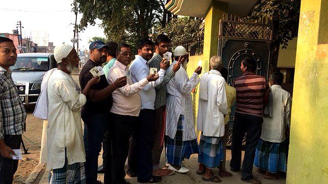 बिहार चुनाव का पहला चरण