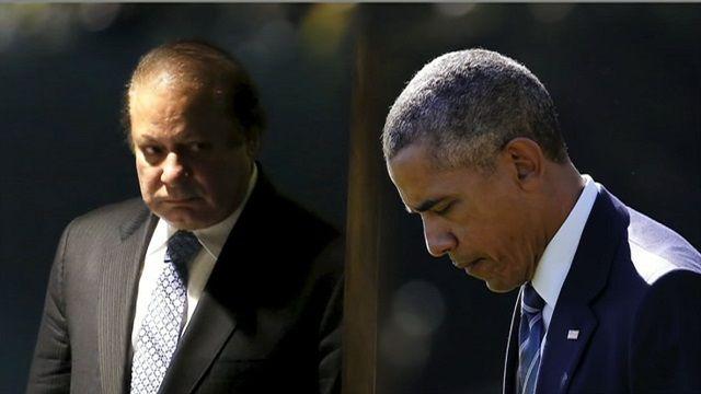 नवाज़ शरीफ़ और बराक ओबामा