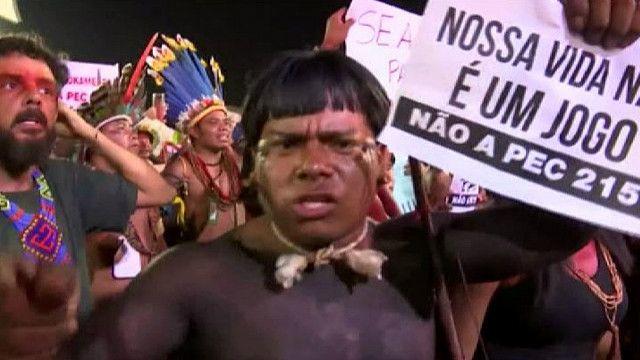 Акция протеста аборигенов