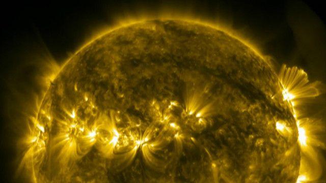поверхня Сонця, кадри НАСА