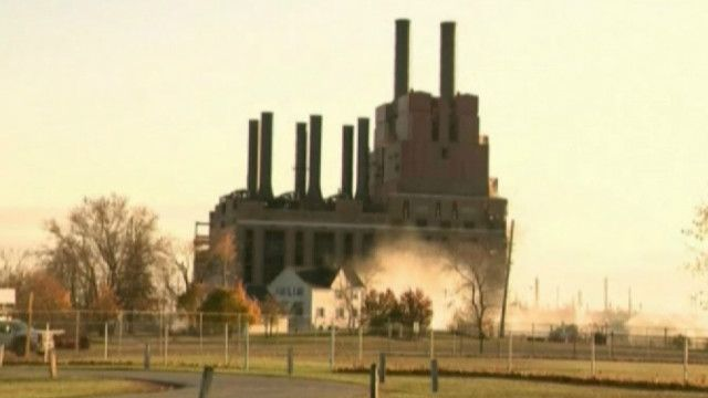 Электростанция в Мичигане