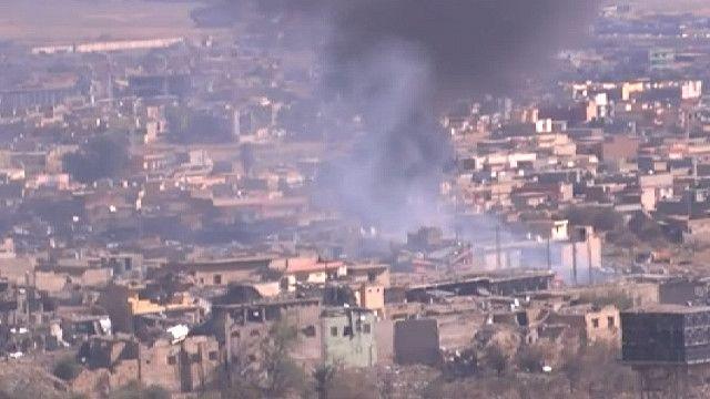 Курды окружили Синджар с трех сторон