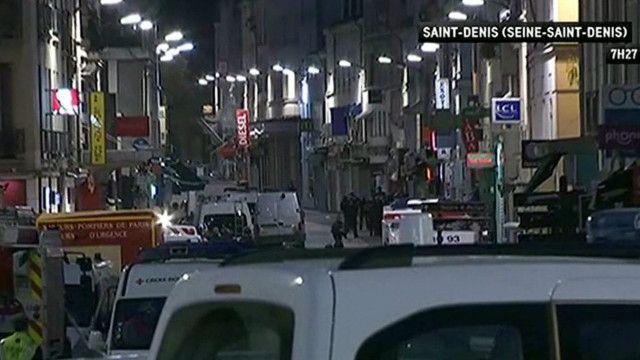 Cảnh sát có vũ trang lùng sục căn hộ ở ngoại ô Saint Denis mạn bắc Paris