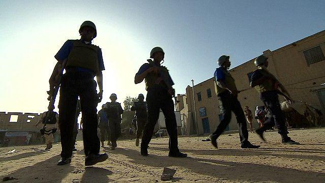 Контингент ООН в Мали