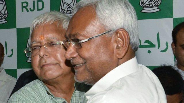 लालू प्रसाद यादव और नीतीश कुमार