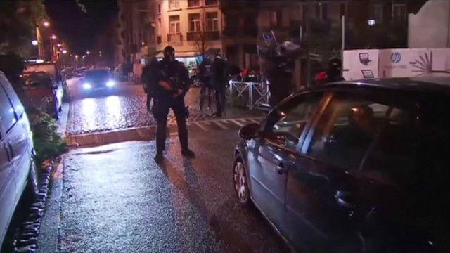 Антитеррористическая операция в Брюсселе