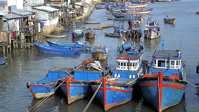 Tàu cá Việt Nam (hình minh họa)