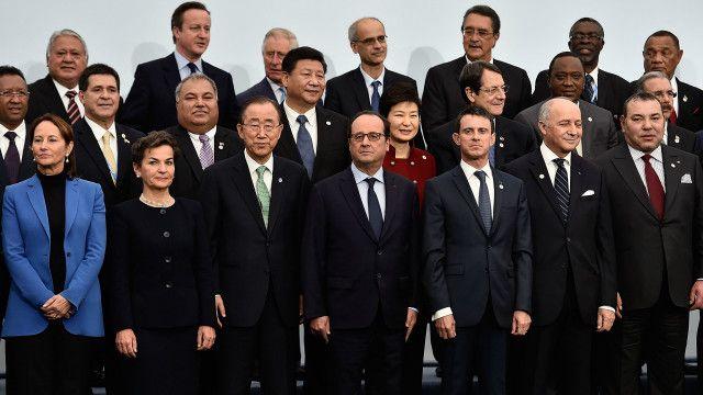 जलवायु सम्मेलन, पेरिस