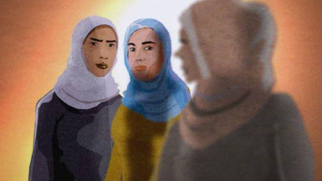 सीरिया के रक़्क़ा में महिलाएँ