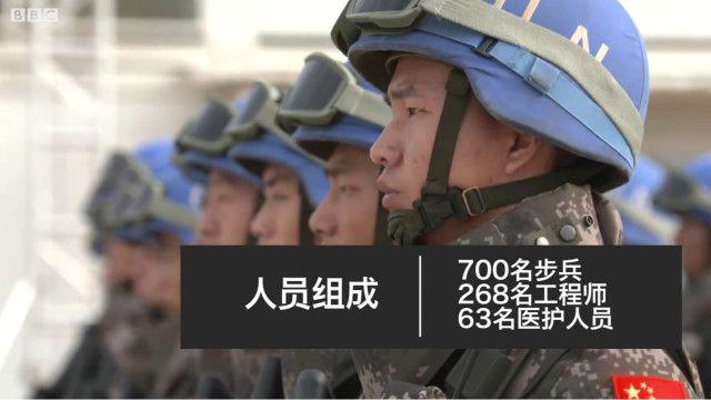 中国驻南苏丹维和步兵营