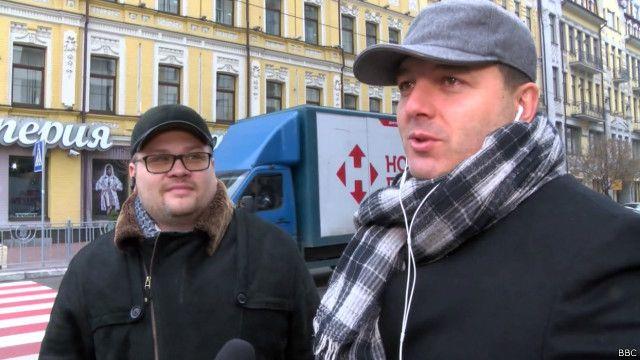 Киевляне - о ссоре Авакова и Саакашвили