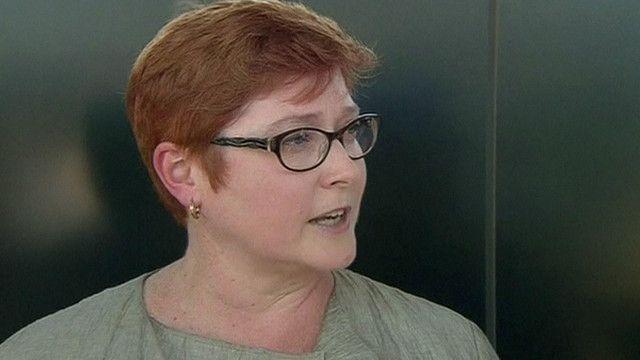 Bộ trưởng Quốc phòng Úc, bà Marise Payne