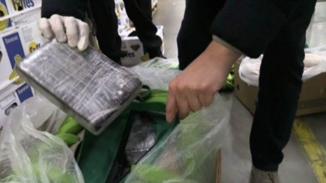 Польская полиция нашла кокаин в ящиках с бананами